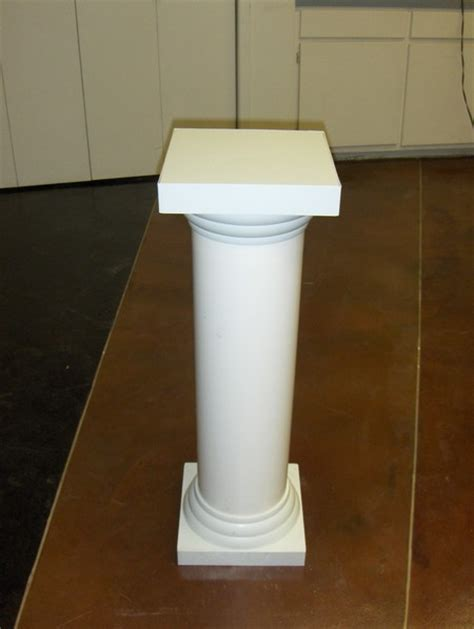 Decorative Top Of A Column by Photo Gallery Wedding Columns Display Columns Plastic