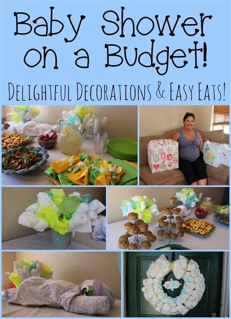 Creating a baby shower on a budget with affordable diaper
