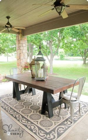 17 Best Images About Backyard Dining Table Ideas On Build Your Own Patio Table