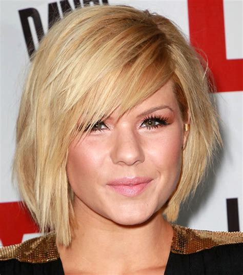 haircuts for thin hair round face 2015 best short hairstyles for round faces