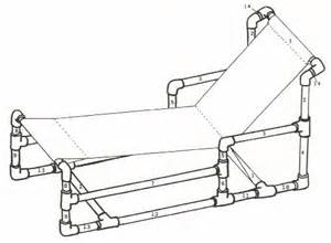 Pvc Chaise Lounge Chair Design Ideas Recycle Pvc Pipe Furniture For Chaise Lounge Chair Plan