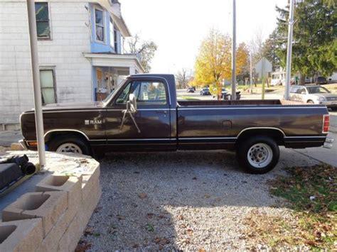 dodge ram d250 for sale 1981 dodge ram d250 3 4 ton rust free truck for sale