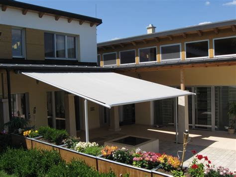 Patio Awning Supports Markilux Pergola 110 210 Retractable Patio Awning Frame
