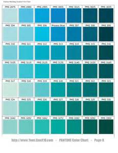 turquoise color chart i a pantone chart graphic design
