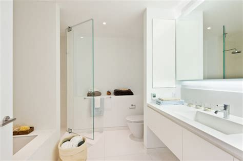 Modern Bathrooms Houzz 13 All White Bathrooms With Clean And Classic Style Fox News