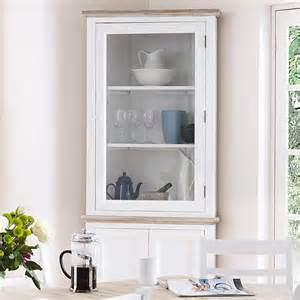 Corner Cabinet For Tv Corner Display Cabinet Blakeney White