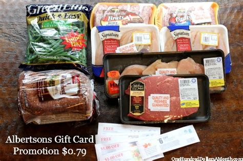 Gift Card Promotion Ideas - shopping with mavis albertsons gift card promotion ideas one hundred dollars a month