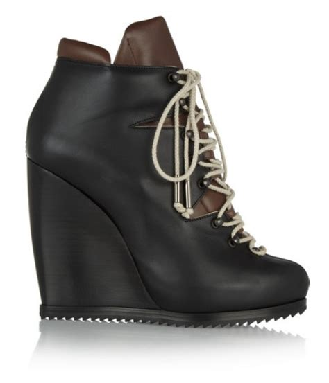 10 stylish lace up wedge boots for winter and