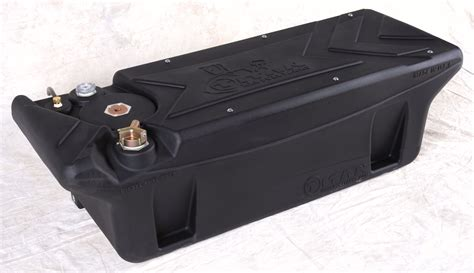 truck bed fuel tanks titan to introduce industry s first polymer in bed