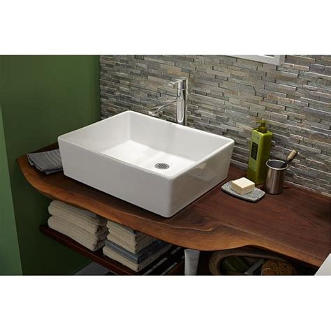 Above Counter Kitchen Sinks American Standard Bath Sink Loft Above Counter 2 Canaroma Bath Tile