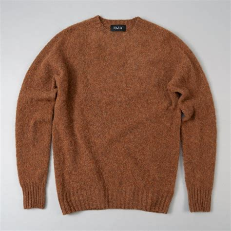 Sweater C For Cool Merah 1 birth of the cool sweater tobacco howlin the hill side