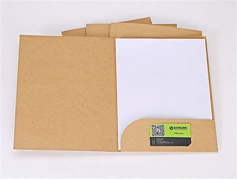 How To Make A Paper File Folder At Home - 10pcs lot kraft paper environment protecting a4 file blank