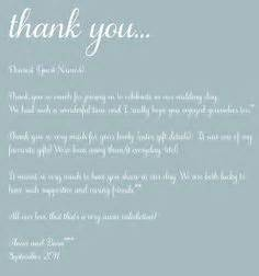 Thank You Letter To Parents From Daughter Wedding 1000 Ideas About Wedding Thank You Wording On Pinterest