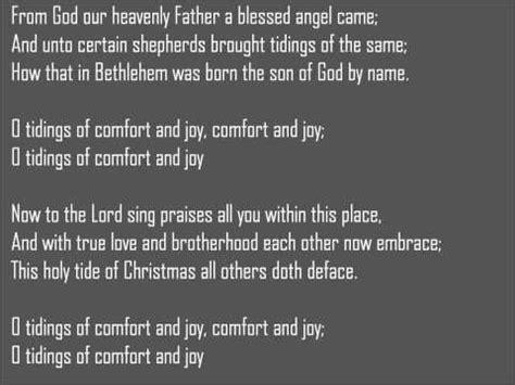 comfort and joy lyrics god rest ye merry gentlemen songtext von boyz ii men lyrics