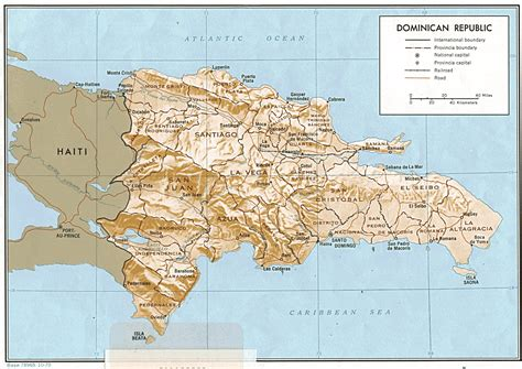 dominican republic nationmaster maps of dominican republic 4 in total