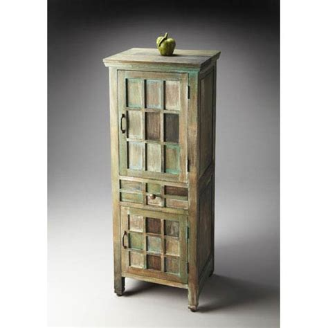 accent cabinet with shelves artifacts three shelves accent cabinet butler specialty