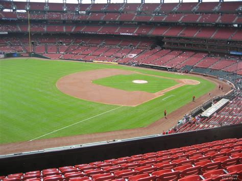 section 235 busch stadium busch stadium section 265 rateyourseats com
