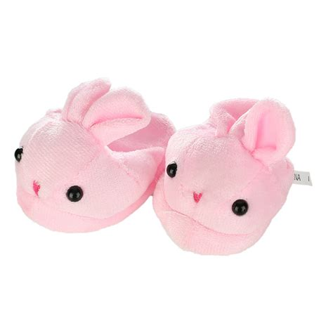 american doll slippers pink bunny slip on slippers fits 18 quot american doll