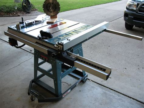 jet contractor table saw vintage jwts 10jf jet contractor table saw w extras by