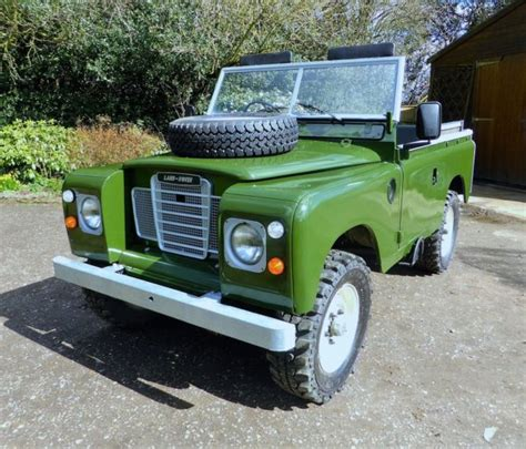 land rover series iii 88 ex military ex military for sale land rover defender suv 1985 green for sale