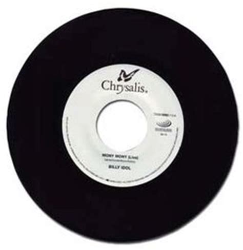 billy idol : mony mony (live) / hot in the city 45 (2011