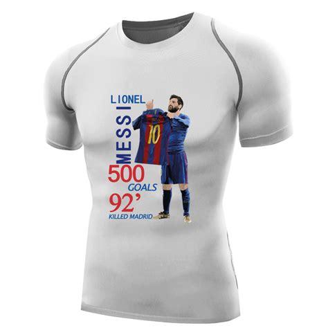 Hoodie Lionel Messi Barcelona 1 lionel messi t shirt compression shirt sleeves messi jersey camisa barcelona 2017 mens