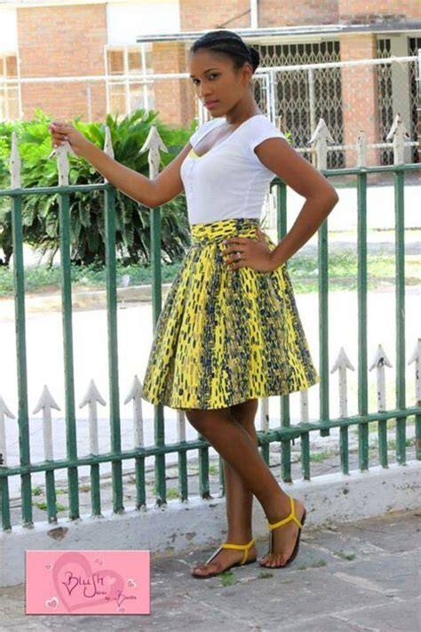 7 Modest Yet For by And Flirty Yet Modest A Print Knee Length Skirt