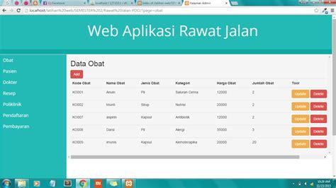 membuat aplikasi web dengan php dan database mysql kv
