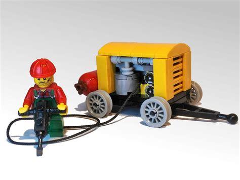 Compressor Jackhammer lego ideas jackhammer and compressor