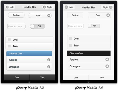 themes jquery mobile 1 4 jquery mobile 1 4 a new look and feel appstudio blog