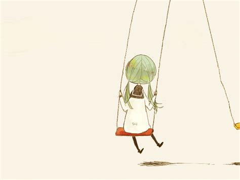 anime swing hatsune miku 808928 zerochan
