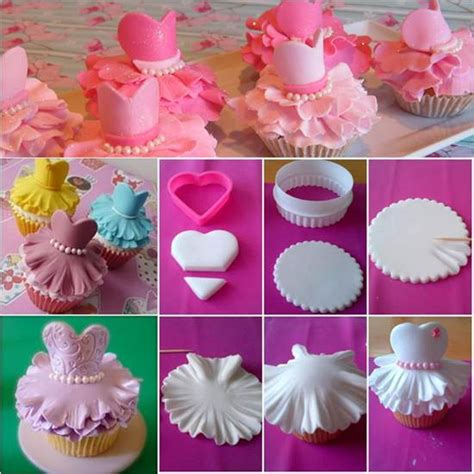 how to decorate cupcakes at home how to make cute ballerina cupcakes diy ideas