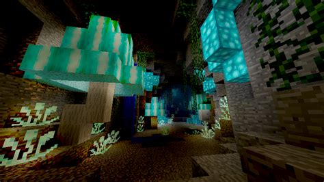 How To Build A Custom Kitchen Island by Luminescent Mushroom Cave Biome Minecraft