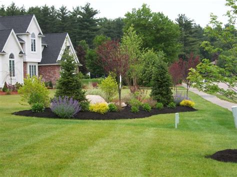 country driveway garden ideas end of driveway landscaping ideas hill landscaping