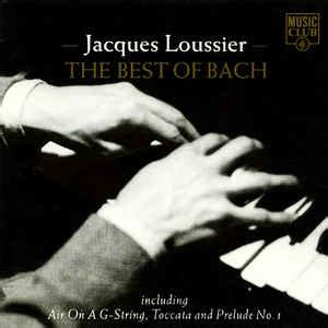 best bach jacques loussier the best of bach cd at discogs