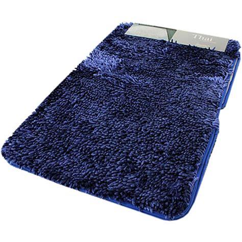 tappeti da bagno parure 3 pezzi tappeto da bagno antiscivolo shaggy thai 5