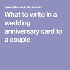 What To Write In A 50th Anniversary Card