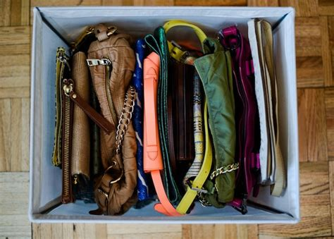How To Organise Handbags In Closet Organize Your Purses Fashionable Hostess