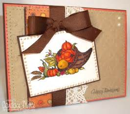 handmade happy thanksgiving greeting card