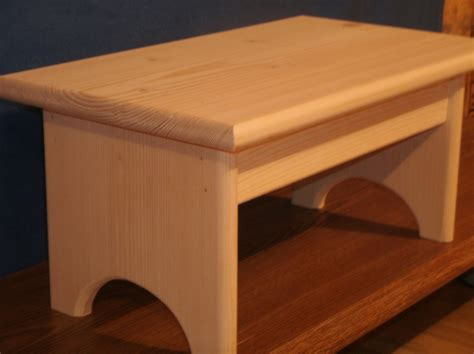 One Step Stool Wood wood step stool wooden step stool 7 1 2 wooden
