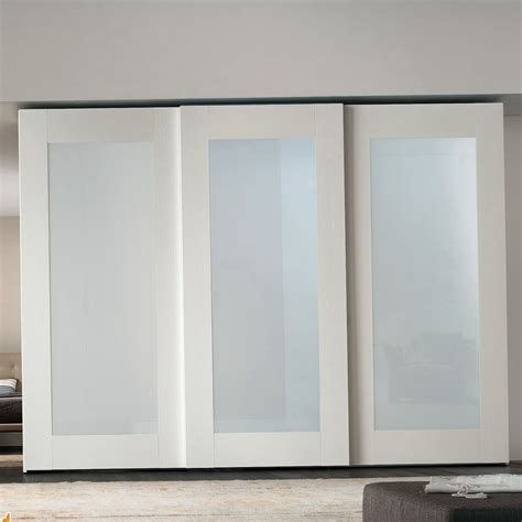 Frosted Glass Closet Sliding Doors White Closet Doors Home Design Ideas And Pictures