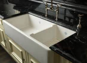 Two Bowl Kitchen Sink Rohl Shaws Original 1 1 2 Bowl Fireclay Apron Kitchen Sink Kitchen Sinks By Rohl