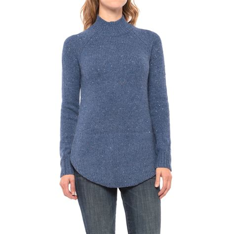 Vc Sweater cynthia rowley donegal button back tunic sweater for save 60