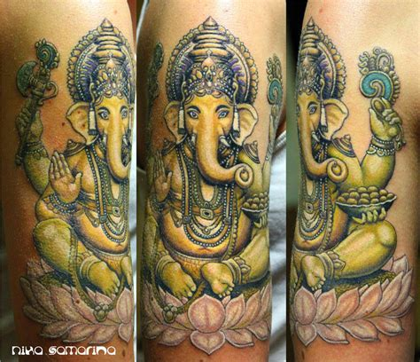 ganesh tattoo shop ganesha by nikasamarina on deviantart