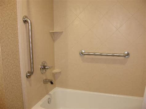 bathtub bars nice clean tub with grab bars picture of best western