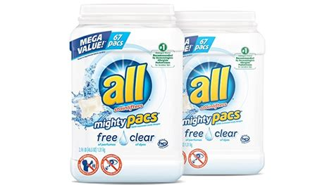 Discount Alert Save 20 At Mighty Flirt Until February 9 Second City Style Fashion by Expired All Mighty Pacs Laundry Detergent Free Clear For