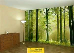 How To Paint A Wall Mural In A Bedroom نصب استیکر بر روی دیوار اتاق خواب و نشیمن خط معمار
