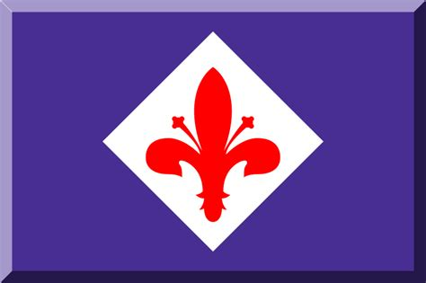3d svg file flag of fiorentina 3d svg wikimedia commons