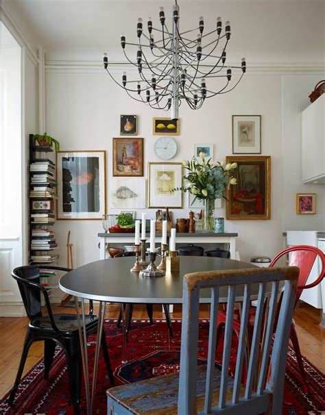 Bohemian Dining Room bohemian modern style eclectic dining
