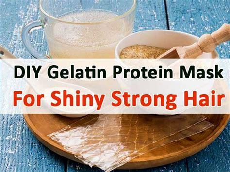 diy gelatin mask diy gelatin protein mask for shiny strong hair boldsky